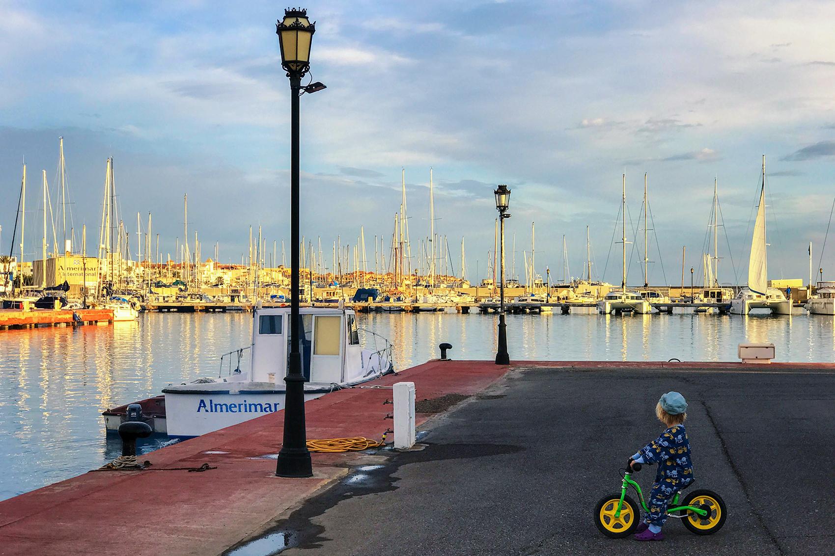 Almerimar – Stellplatz direkt am Yachthafen